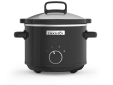 Slow Cooker 2,4L Black DNA