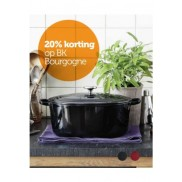 Bourgogne pot/pan: 20% korting