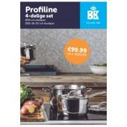 BK Cookware Profiline 4delige set