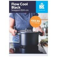 BK Cookware Flow Cool Black Soeppot