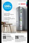 Bosch: Cashback Bottom-Freezers NoFrost met VitaFresh