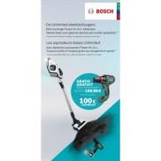 Steelstofzuiger Unlimited: Cashback of gratis Bosch Advanced Drill