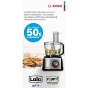 Foodprocessor MultiTalent 8: Tot €50 cashback