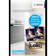 Bosch oven: Gratis kookboek Loïc