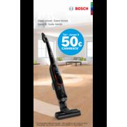 Bosch steelstofzuiger Athlet: Tot €50 cashback