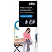 Braun Strijkijzer: Tot €60 cashback