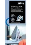 Braun strijkijzers: 4 jaar garantie / niet tevreden geld terug