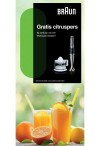 Braun MultiQuick: Gratis citruspers
