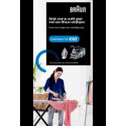 Braun strijkijzers: Tot €60 cashback
