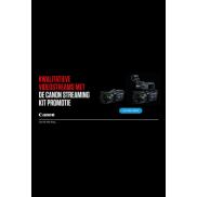 Canon: Streaming Kit Promo