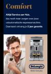 De'Longhi Comfort: Service pakket