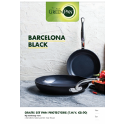Barcelona bakpan: gratis panbeschermerset twv €8.90