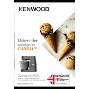 Kenwood: Ijsbereider accessoire cadeau