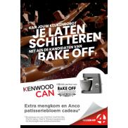Kenwood: Extra mengkom en patisseriebloem cadeau