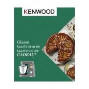 Kenwood keukenrobot: Glazen taartvorm en taartrooster cadeau