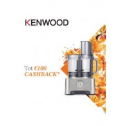 Kenwood Foodprocessor: Tot €100 cashback
