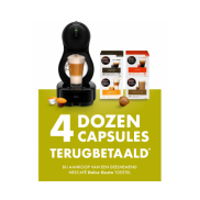 Nescafé Dolce Gusto: Terugbetaling capsules