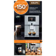 Krups volautomatisch espressotoestel: Tot €150 cashback