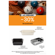 Braadslede/Ovenschotel : 30% korting