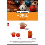 Koffie aardewerk: tot 25% korting