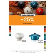 Mini cocotte rond: 25% korting