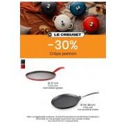 Le Creuset Pannenkoekenpannen 30%