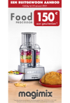 Magimix: €150 aan geschenken bij aankoop foodprocessor