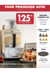 Magimix Foodprocessor: Tot €125 aan geschenken
