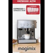 Magimix Espresso: 4 kopjes gratis