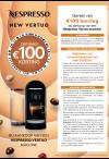 Nespresso: New Vertuo Korting