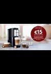 Nespresso: €15 Koffiekorting