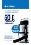 Nilfisk: Tot €50 cashback