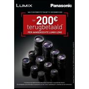 Panasonic: Cashback Lumix Lenzen