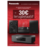 Panasonic Cashback micro-of audiosysteem