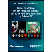 Panasonic: Actie Rakuten TV
