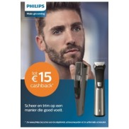 Male Grooming: Tot €15 cashback