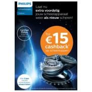 Scheerkoppen: tot €15 cashback