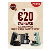 Senseo: Tot €20 cashback