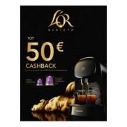 L'Or Barista: Tot €50 cashback