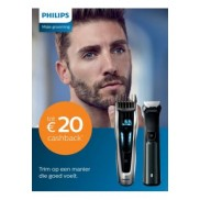 Male Grooming: Tot €20 cashback