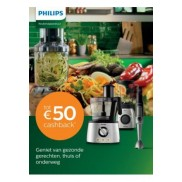 Keukenapparatuur: Tot €50 cashback
