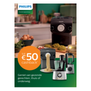 Philips keukenapparatuur: Tot €50 cashback