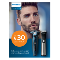 Philips Male Grooming: Tot €30 cashback