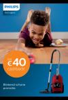 Philips stofzuiger: Tot €40 cashback