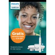 Philips Sonicare: Gratis opzetborstels