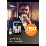 Philips Saeco Espresso: Tot €150 cashback