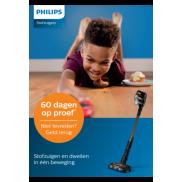 Philips Steelstofzuiger: 60 dagen op proef