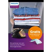Philips stoomgenerator: gratis kledingstomer