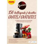 Philips Senseo: 150 koffiepads gratis