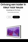 Samsung: Ontvang een lijst in kleur naar keuze bij aankoop van The Frame